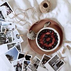 """""""Breakfast + Instagram prints.  #vsco #vscocam #vscogrid #inkifi""""  Create your own with Inkifi - http://inkifi.com/create-prints/vintage-prints.html  #vintage #prints"""