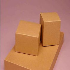 Natural Kraft Gift Boxes for favors. 100 for $13.19. Just add some ribbon and stamp out names on the box and DONE!