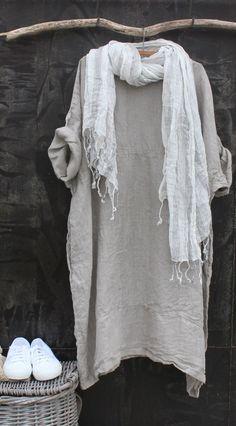Linen Dress MegbyDesign Más Más