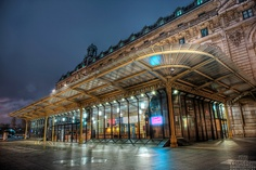 The Musée dOrsay is a museum in Paris, France, on the left bank of the Seine, housed in the former railway station, the Gare dOrsay,hosting works by such painters such as Monet, Manet, Degas, Renoir, Cézanne, Seurat, Gauguin and Van Gogh.