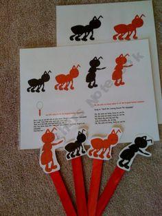 PreschoolPrintable Shop - ants-go-marching | Teachers Notebook