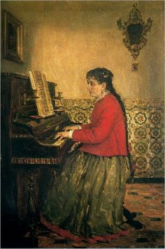 _Casimiro Sainz y Saiz (1853 – 1898) - At the Piano