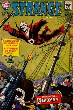 "1967 Alley Award - Full-Length Story - ""Who's Been Lying in My Grave?"", by Arnold Drake & Carmine Infantino, Strange Adventures #205 (DC Comics)"