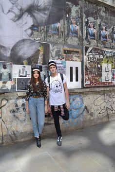 East End Kids...#bricklane #fashion #graffiti #models #beanies