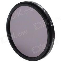 Prima ND8 Camera Lens Filter (52mm) SKU: 23337 (Añadido el 11/02/2010) Precio: US$5,98 Envío: Envío Gratis A SPAIN Entrega: Normalmente se entrega de 7 a 10 días laborables