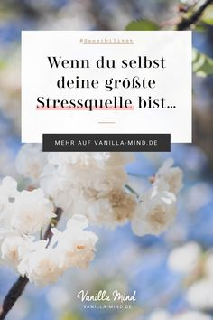 My biggest source of stress? About sensitivity & demarcation - Hautbehandlung Psychology Quotes, Psychology Today, Sources Of Stress, Love Your Enemies, Fatigue, Mental Training, Visualisation, Abnormal Psychology, Cognitive Psychology