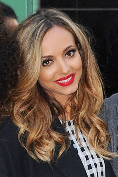 jade thirlwall hair in salute video   | Jade Thirlwall of Little Mix outside Good Morning America in New York ...