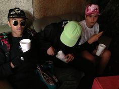 thaiboy digital and yung lean Cloud Rap, Yung Lean, Juicy J, Squad Goals, Tumblr, Music Stuff, Urban Fashion, Streetwear Fashion, Street Wear