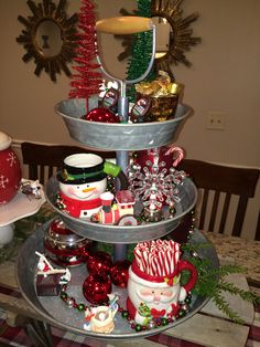 Hot Cocoa Bar - Christmas Decor - This is at Betty's house! I love it!