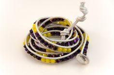 Minnesota Vikings Wrap Bracelet
