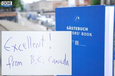 Das DDR Museum grüßt British Columbia, Canada!