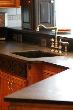 Saratoga Soapstone countertops