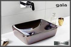 Lavoar dreptunghiular pe blat Emma Square culoare bronz metalizat, Sink, Home Decor, Vessel Sink, Sink Tops, Interior Design, Home Interiors, Decoration Home, Sinks, Vanity