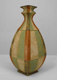 Post-War Design American accessories urn/vase porcelain