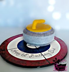 Right on the Button - Cake by Enticing Cakes Inc.