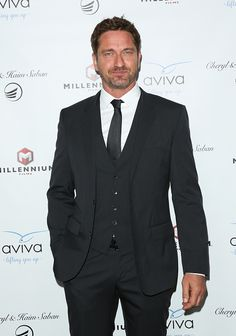 Actor Gerard Butler attends the gala to honor Avi Lerner and Millennium Films at The Beverly Hills Hotel on April 16 2016 in Beverly Hills California