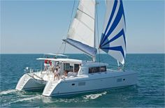 Lagoon 421 Catamaran Charter, 4 cabins, 8 berths. Available in Croatia, Greece, Turkey etc.
