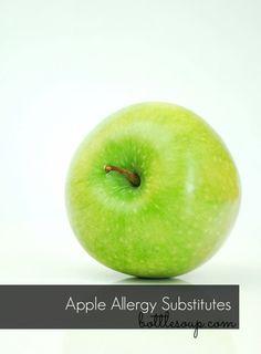 Apple #allergy substitutes. #allergies #allergic #apples