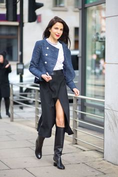 98 amazing outfit ideas to take from the streets of London.