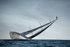 What a picture! The Mast Walk by Alex Thomson