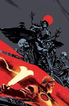 B.P.R.D. Hell on Earth #115 by Rafael Albuquerque *