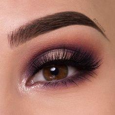 30 потрясающих идей макияжа для девушек с карими глазами