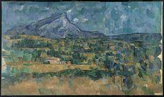 Paul Cézanne   Mont Sainte-Victoire   The Met