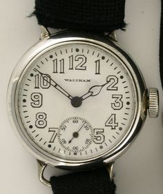 $825 Waltham Sterling Item 1108 Antique Watch Co.
