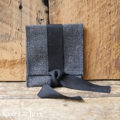 Charcoal USB Pouch | USB Packaging for Photographers