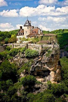 Chateau de Belcastel - Lot, Pyrenees, France Where the Soniat Dufossat Family started