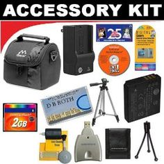 2GB DB ROTH Deluxe Accessory kit For The Nikon D70, D70s, D100, D200, D300, D700 Digital SLR Cameras $62.99