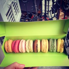 birthday macaroons, Cannes