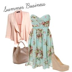 """Summer Business Casual"" by pup182me on Polyvore - Great website to create your own unique outfits"