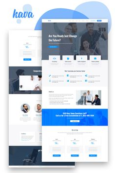 A Website Creation Guide For Creating Spectacular Compelling Websites Corporate Website Design, Website Design Layout, Web Layout, Layout Design, Landing Page Inspiration, Website Design Inspiration, Business Website Templates, Web Ui Design, Flat Design