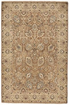 Indian Hand Knotted Rug 4 6 8