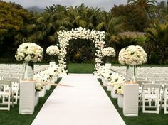 If I ever decided to have an outdoor ceremony...