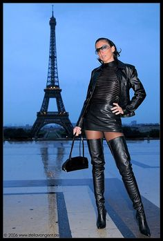 Post with 0 votes and 36 views. Stella van gent in leather Thigh High Boots, High Heel Boots, Over The Knee Boots, Heeled Boots, Ankle Boots, Gents Boot, Sexy Stiefel, Leder Outfits, Beautiful High Heels