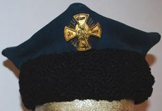 Officer's service hat in the Russian Imperial Family's Own Life-Guards 4th Rifle Battalion.