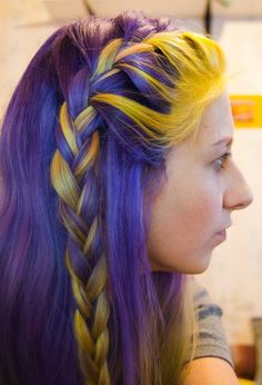 Lakers hair style! I know a friend that would love if I got this hair style!