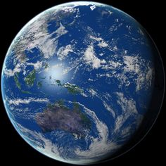 Earth from Space, Oceania