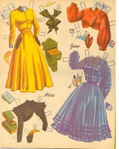 Career Girls, Lowe, 1950 - Kathleen Taylor's Dakota Dreams