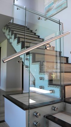 We do a lot of glass railing.