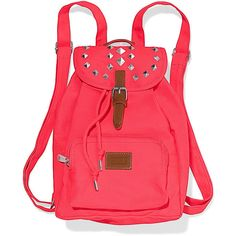 """""""PINK Backpack lovers: meet the Mini. Its just like the bag you know and love, only smaller! So cute on (and off) campus, with extra pockets for all your must …"""
