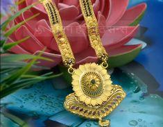 New Gold Jewellery Designs, Gold Mangalsutra Designs, Jewelry Design, Iphone Wallpaper Lights, Bridal Jewelry, Gold Jewelry, Nose Ring Designs, Chudidhar Neck Designs, Gold Chain Design