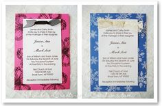 Looking for some easy homemade wedding invitation ideas? We will show you how to make your own wedding invitations fit any theme, season, or style of wedding. Homemade Wedding Invitations, Summer Wedding Invitations, Holiday Invitations, Anniversary Invitations, Invitation Ideas, Invites, Wedding Stationery, Invitation Cards, Handmade Wedding