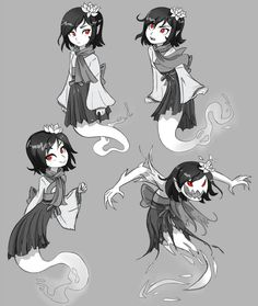 Frostnip Sketches 2 by Ric-M on DeviantArt Fantasy Character Design, Character Concept, Character Inspiration, Character Art, Concept Art, Monster Design, Monster Art, Monster Characters, Fantasy Characters