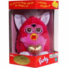 Valentine's Day I Love You Furby Pink and White  Special Limited Edition
