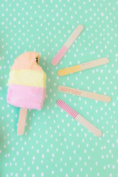 Popsicle Cakes for Summer