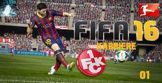 "Let's Play FIFA 16 - Trainer Karriere #001 ""1.FC Kaiserslautern"" [XBox36..."