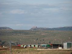 Así se ve el Castillo de Marmionda desde Garrovillas.